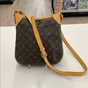 Louis Vuitton Odeon PM Brown Monogram Shoulder Bag